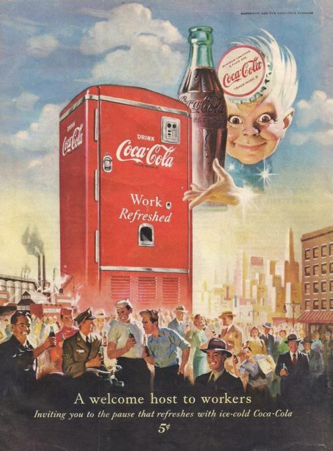 Vintage Coke CocaCola Advertisements of the 1950s Page 6