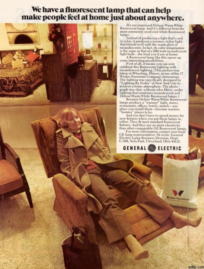 Vintage Furniture Ads of the 1970s