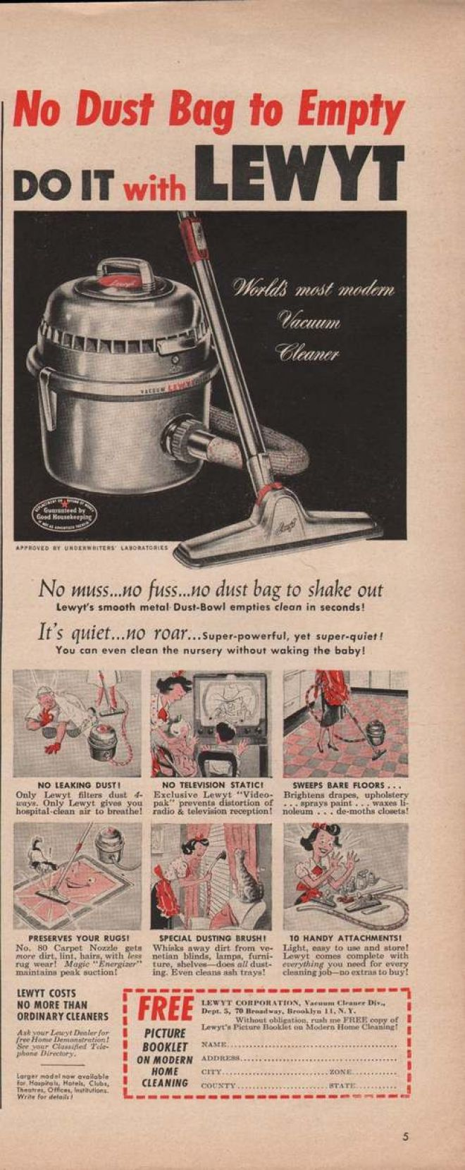 Vintage Household Ads of the 1950s Page 42