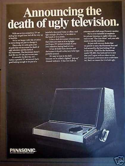 Vintage Electronics TV of the 1960s