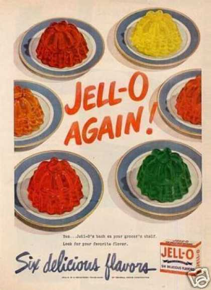 Vintage Food Advertisements of the 1940s Page 57