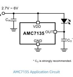 amc7135 led driver circuit [ 1269 x 1080 Pixel ]