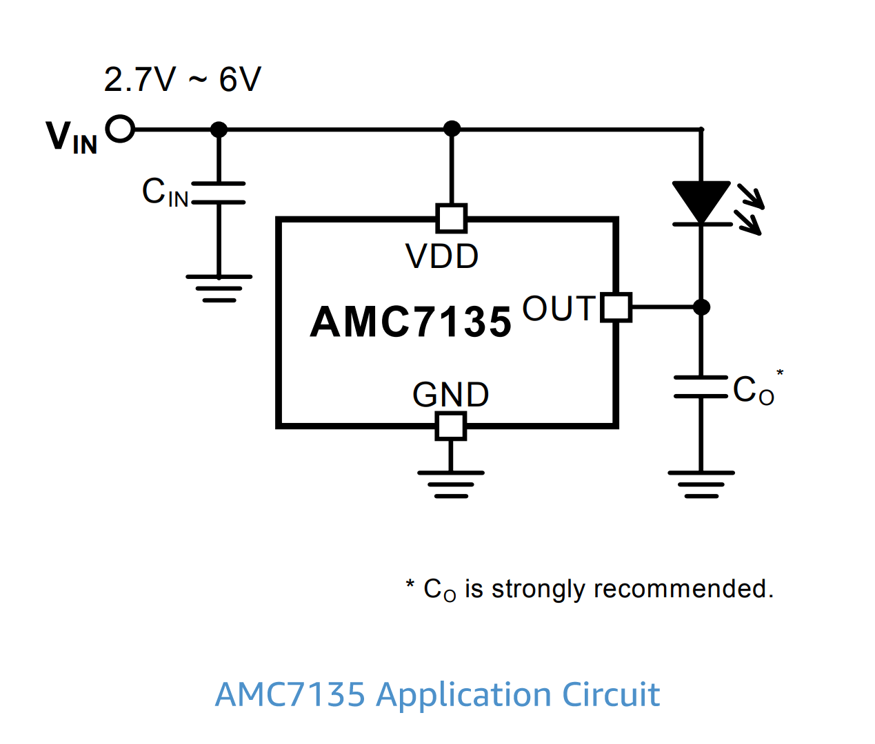 hight resolution of amc7135 led driver circuit
