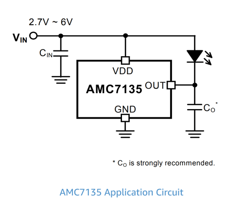 small resolution of amc7135 led driver circuit