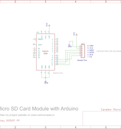 micro sd wiring diagram wiring diagrams long sd wiring diagrams interfacing catalex microsd card with arduino [ 2600 x 1791 Pixel ]