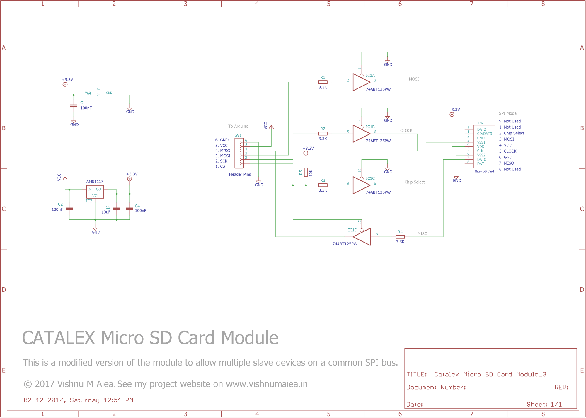 hight resolution of catalex micro sd card module modified schematic
