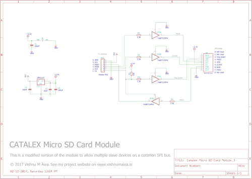 small resolution of catalex micro sd card module modified schematic