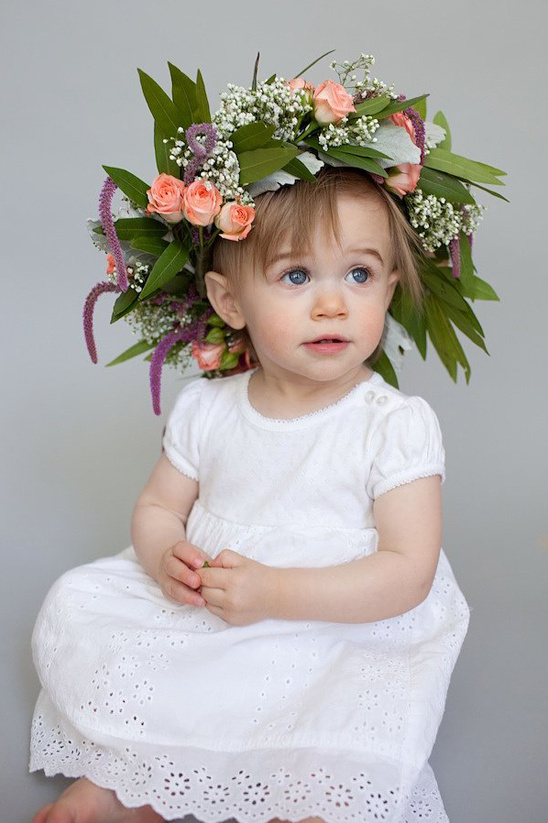 This DIY Crown Is A Must For Your Flower Girl
