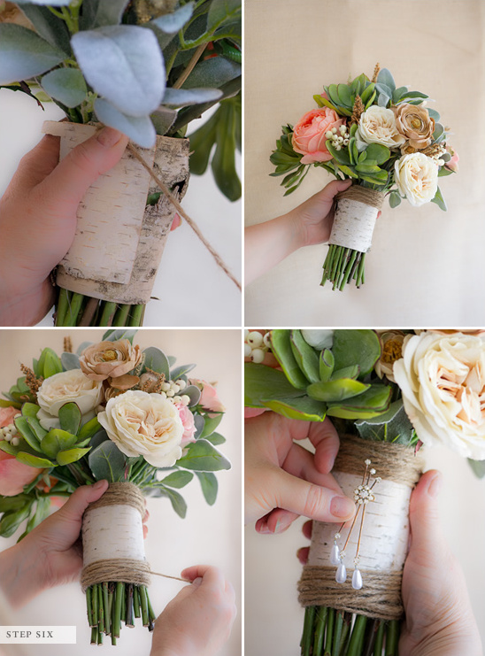 Ethical Bride Diy Wedding Bouquet How To Make Your Own