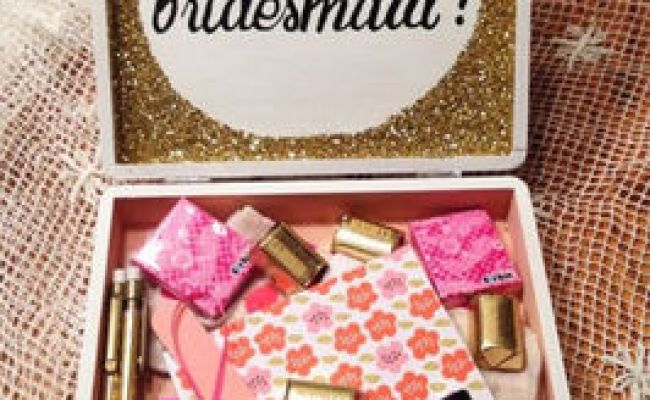 Trending Unique Will You Be My Bridesmaid Gift Ideas