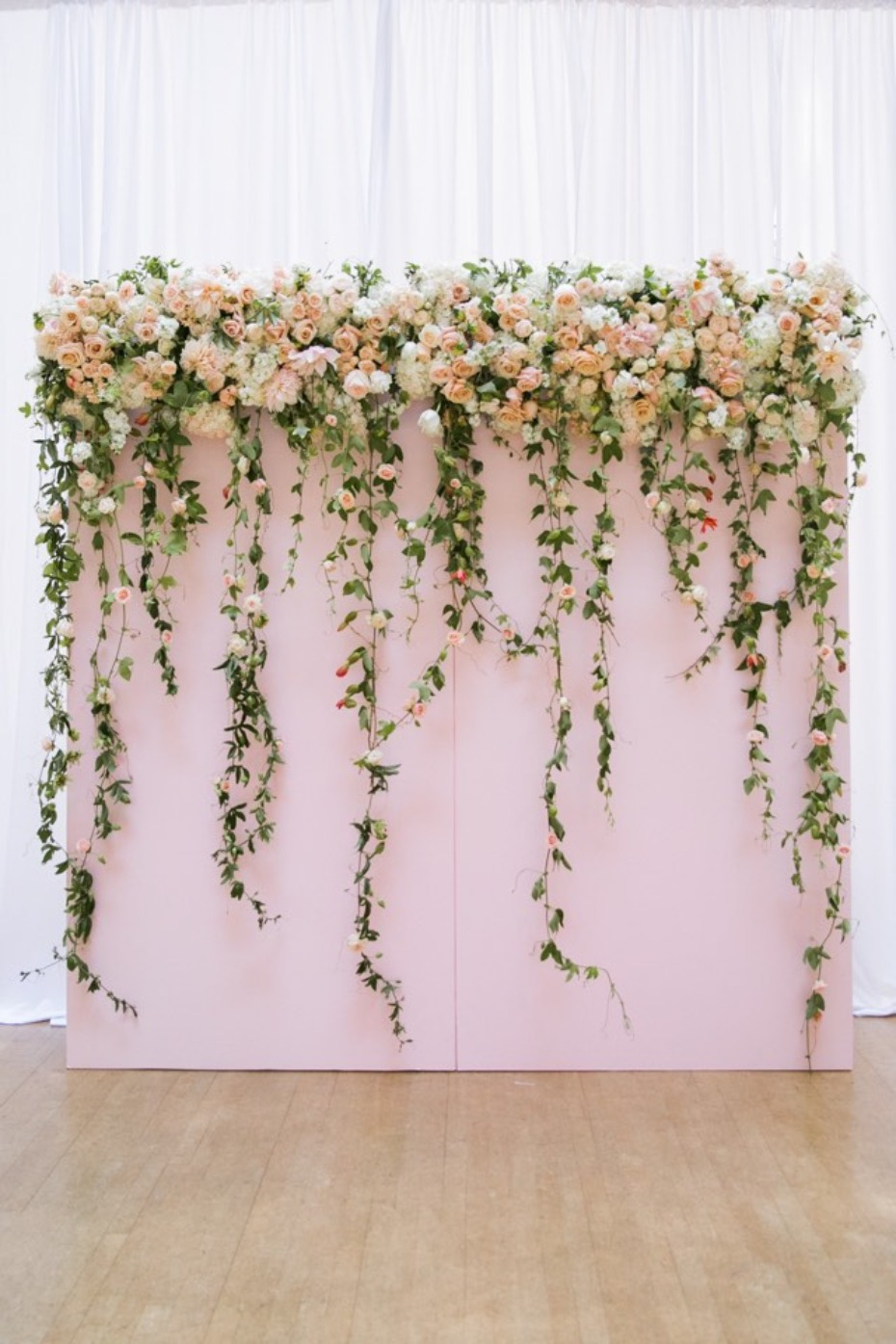 How To Make A Flower Photo Booth Backdrop With Fiftyflowers Com