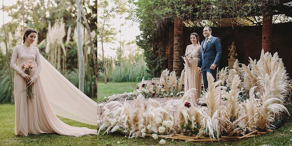 Looking For Fall Glam Wedding Ideas? This Wedding Is It