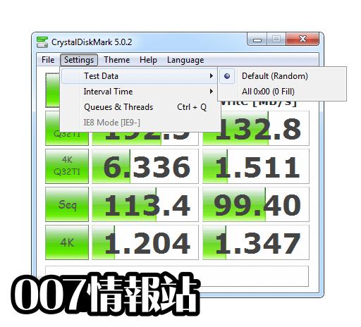 CrystalDiskMark 7.0.0h 軟體資訊介紹   電腦資訊007情報站