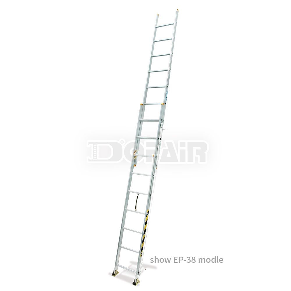 Taiwan 40 ft Aluminum extension ladders, Extension Ladder