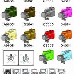 7 Pin Color Code Wiring Diagram For Led Boat Trailer Lights Taiwan Fakra Coaxial Connector Automotive