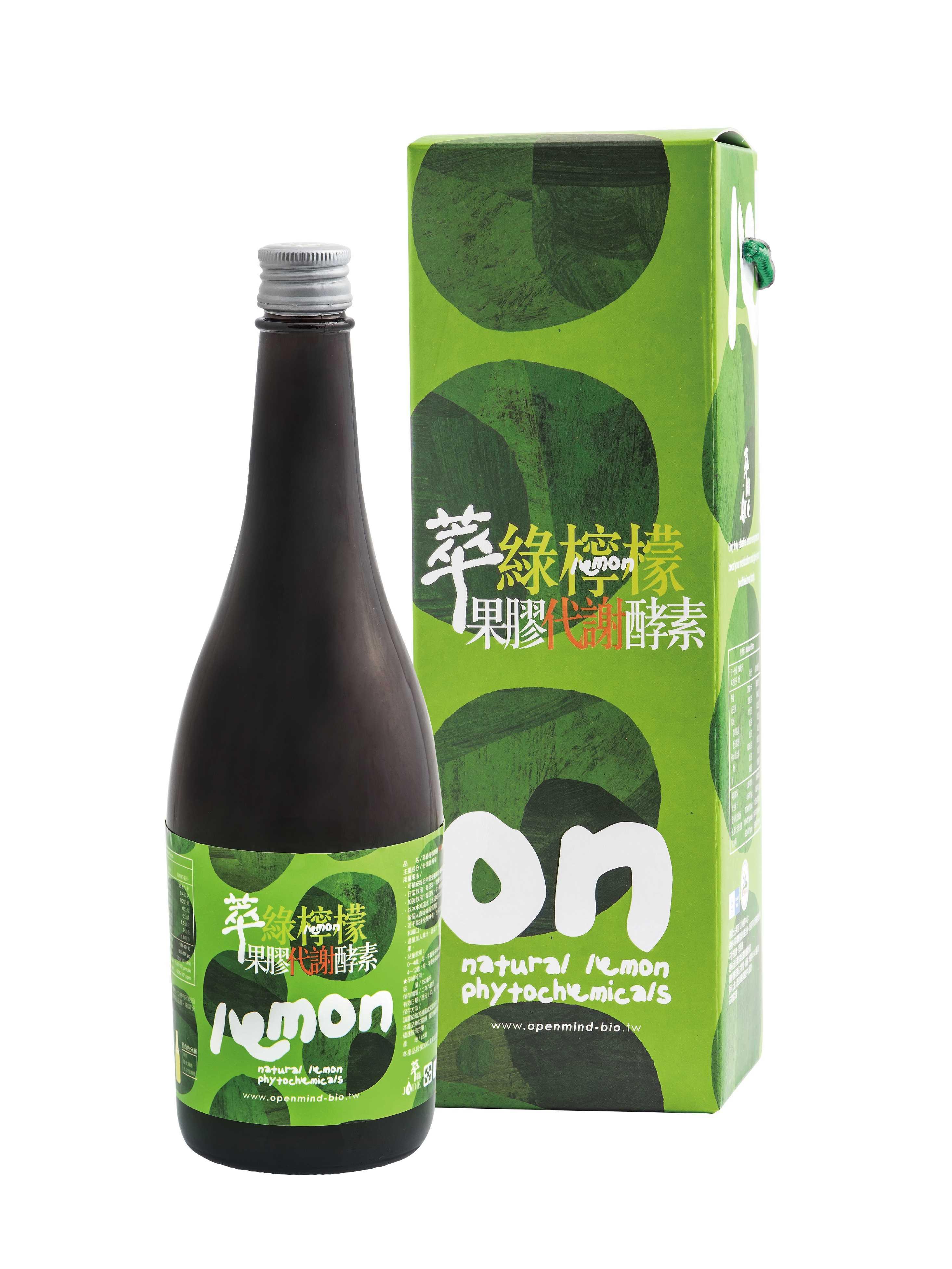 萃綠檸檬果膠代謝酵素 750ml--香港有機食品店 嚴選歐美產品 真正有機健康 | Organic Plus