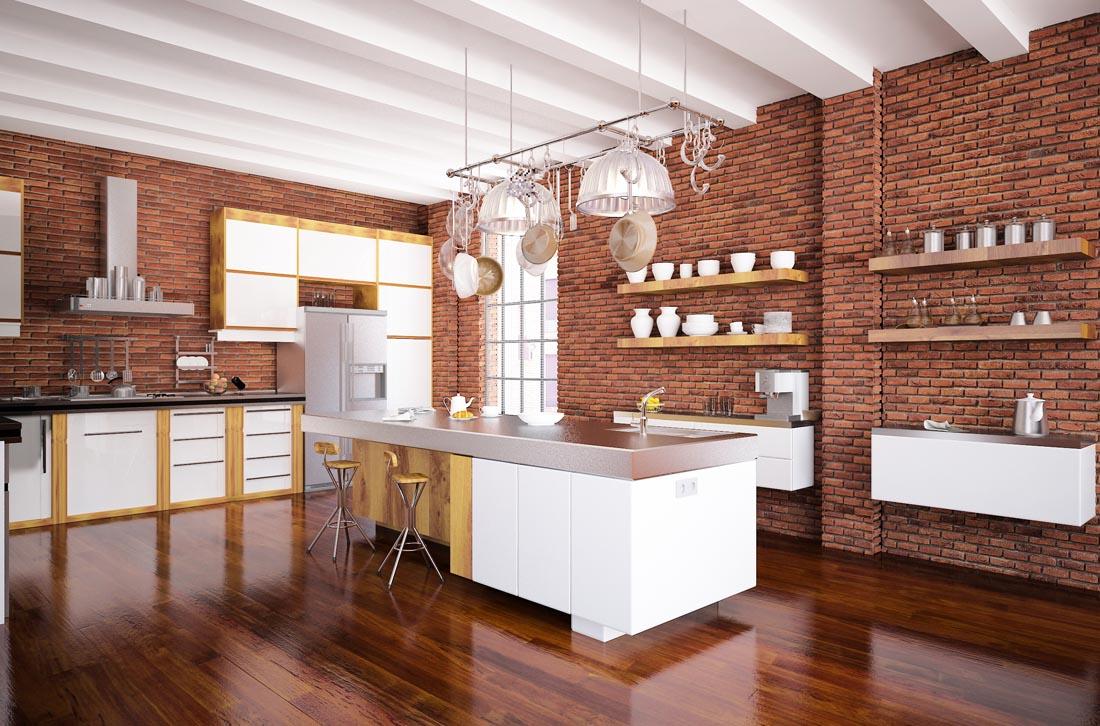 furniture for kitchen small island table 高档别墅室内装修高清图片 - 素材中国16素材网