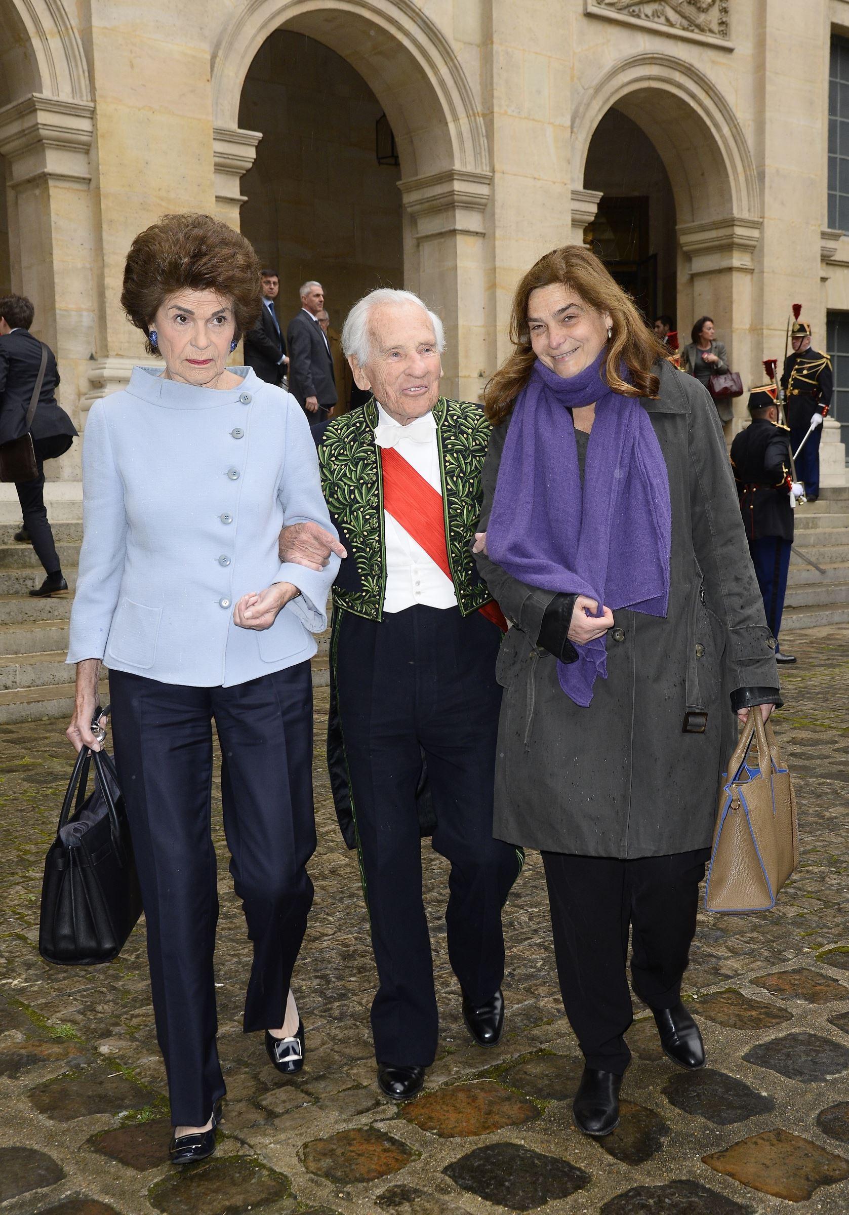 Qui Est La Femme De Jean D Ormesson : femme, ormesson, D'Ormesson, Héloïse,, Fille, Télé