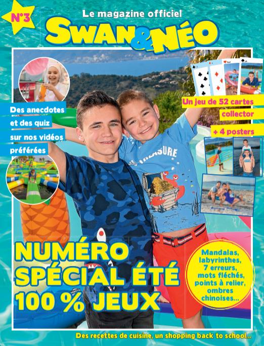 Swan Et Neo Jeu De Société : société, Youtubeurs, Sortent, Magazine, Spécial..., Télé
