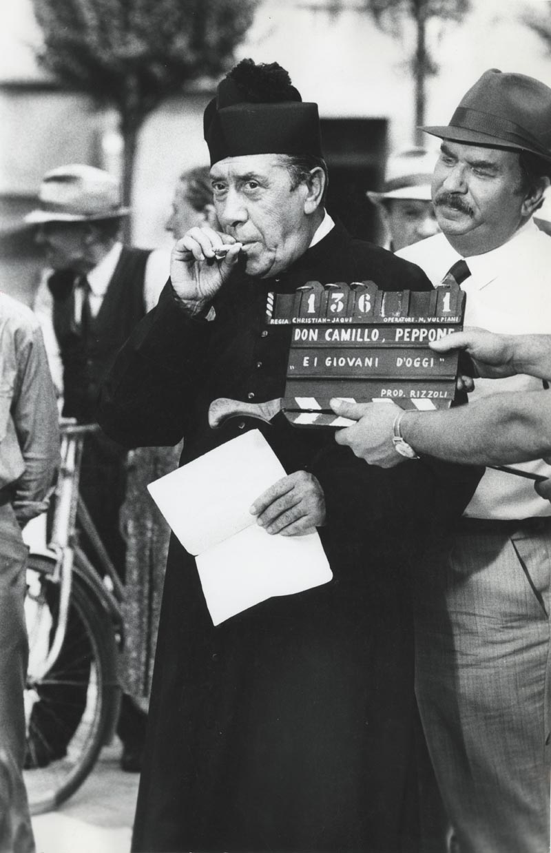 Don Camillo Et Ses Contestataires : camillo, contestataires, Fernandel, Ignora, Jusqu'à, Nature, Maladie..., Télé