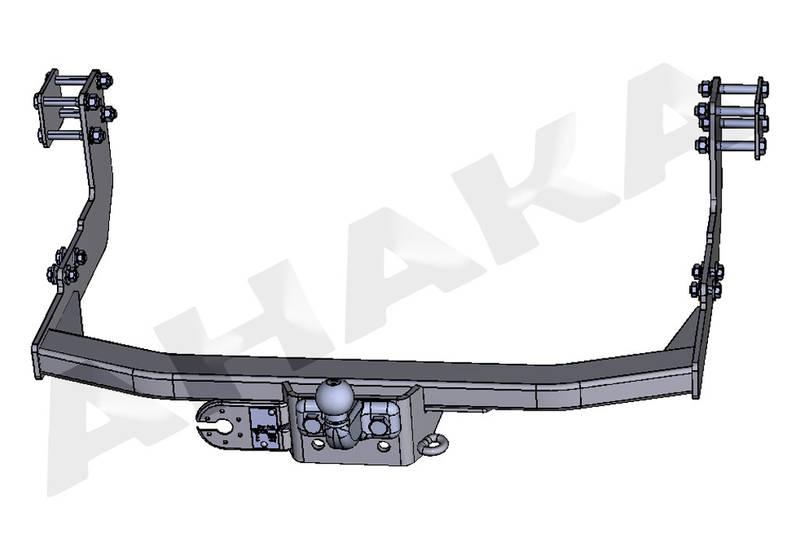 Towbar & Electric 12N Mercedes Sprinter (With Rear Step