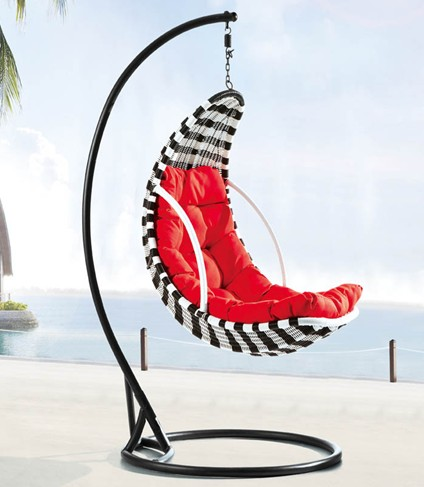 outdoor swing chair bunnings black salon chairs buy steel rattan hanging hc009 price,size,weight,model,width -okorder.com