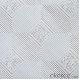 Buy PVC Faced Gypsum Board Ceiling Tiles Price,Size,Weight