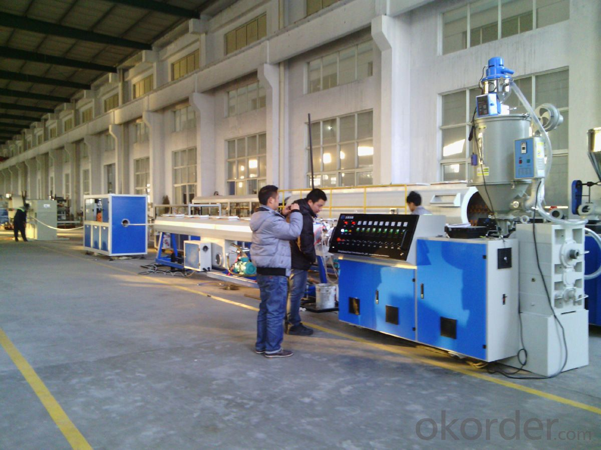 Buy PE pipe extrusion line / Plastic pipe extruder