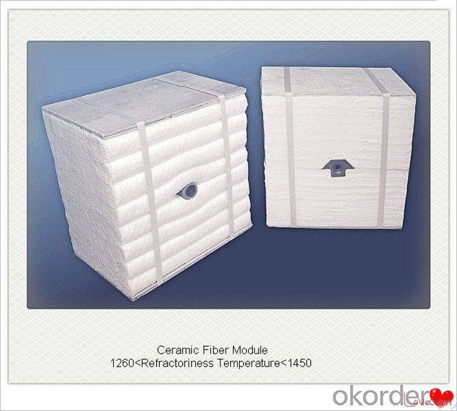 Buy Ceramic Fiber Module Boiler Insulation with Achor