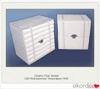Buy Ceramic Fiber Module Boiler Insulation with Achor