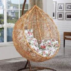 Egg Chair Stand Only Portable Makeup Wholesale Products Okorder Com Swinging Outdoor Wicker Honey Color