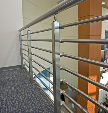 Buy L20C Stainless Steel Stanchion Tubular Steel Railing Price | Stainless Steel Handrails Price | Balcony Railing Designs | Modern Balcony | Wrought Iron | Staircase Handrail | Steel Staircase Railing