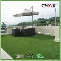 Buy 35mm Roof Terrace Garden Artificial Grass PE Curly ...