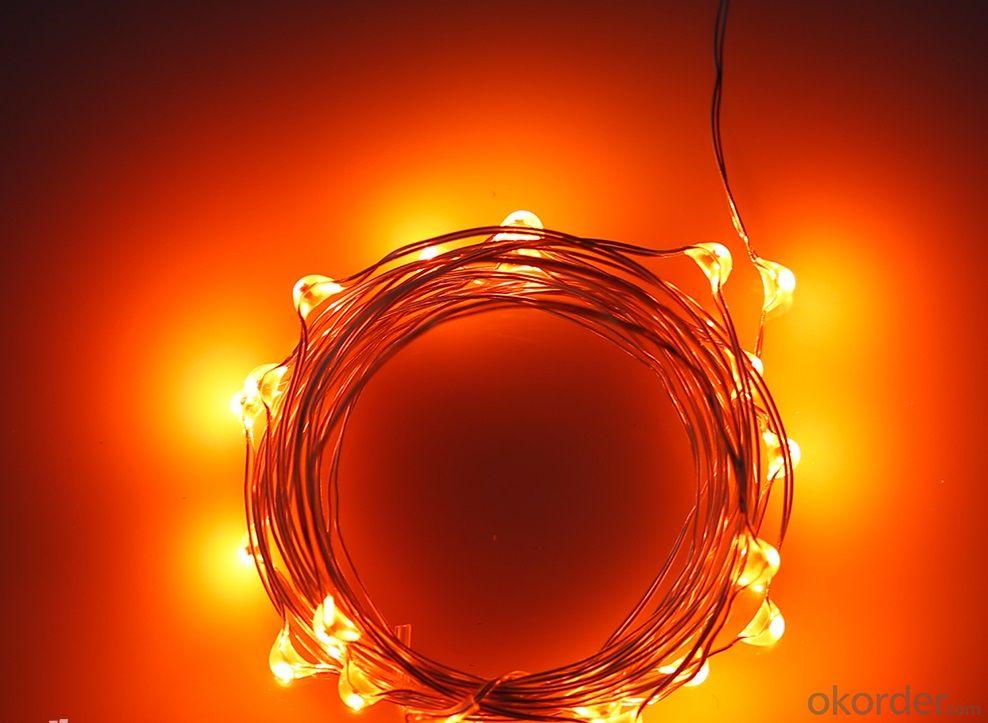 Buy Orange Fairy Light Flexible Led Mini Copper Wire