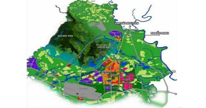 quy hoạch phân khu đô thị Sóc Sơn