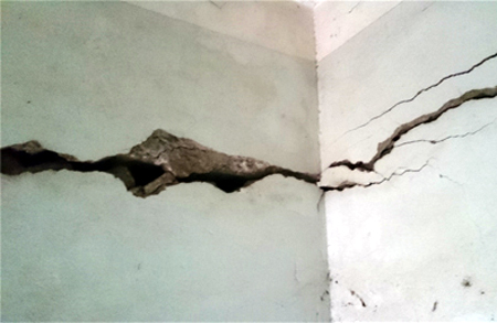 Các giải pháp cho tường nhà bị rạn nứt