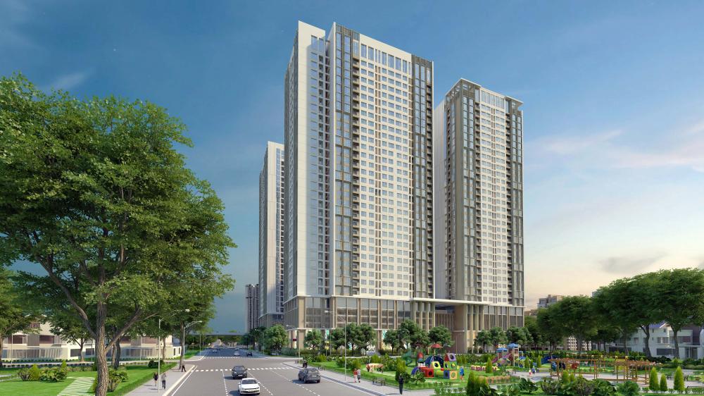 Phối cảnh dự án Eco- Green City