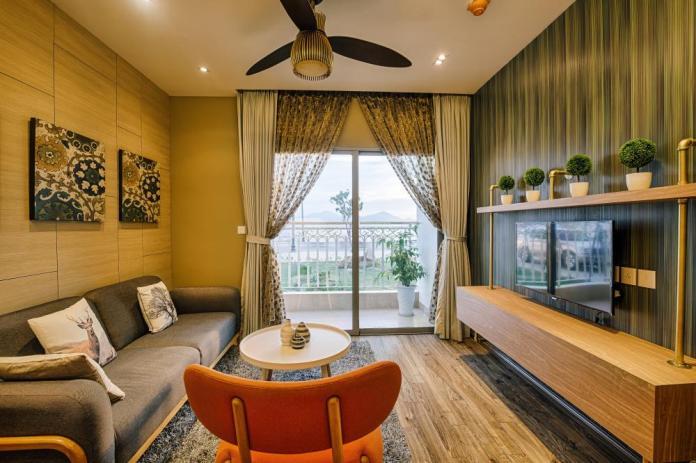 Thiết kế căn hộ sang trọng, hiện đại