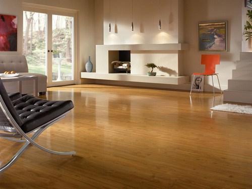 Với căn phòng riêng biệt có thể chọn màu sắc sàn khác nhau