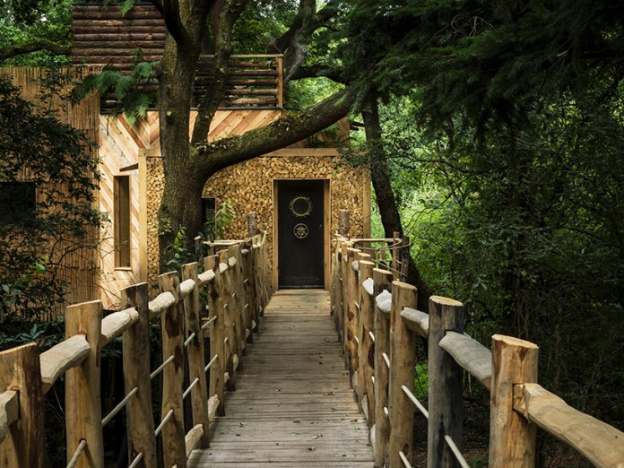 ngôi nhà gỗ trên cây