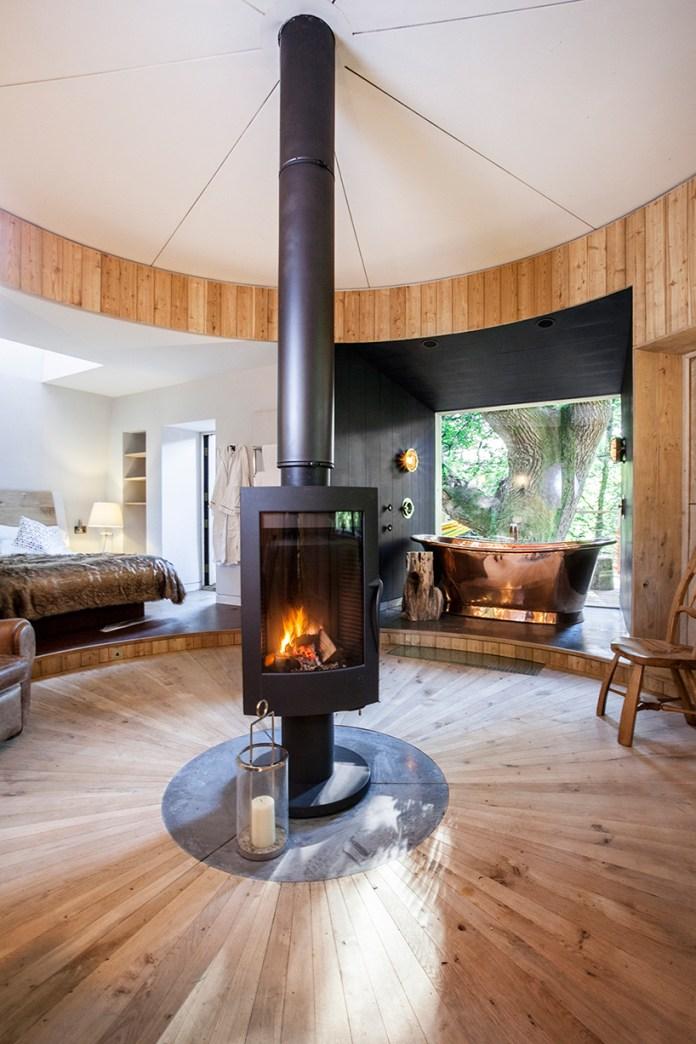 Nhà gỗ trên cây tiện nghi