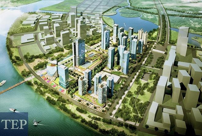 Dự án 2 tỷ đôla ở Thủ Thiêm