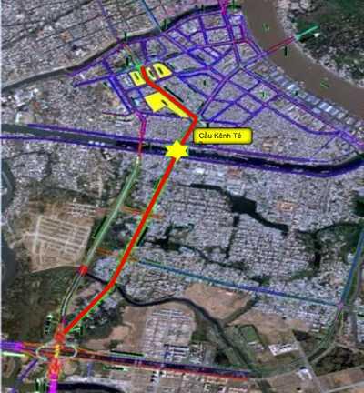 Đầu tư hàng loạt dự án nghìn tỷ giúp khu Nam Sài Gòn thoát cảnh ùn tắc 1