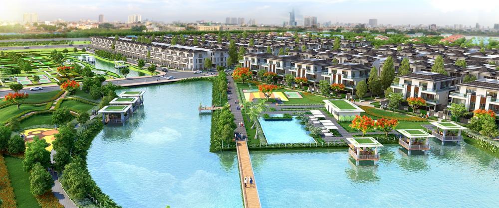 Dự án biệt thự phố vườn Lavila giai đoạn 2 đạt tỷ lệ đặt chỗ 90%