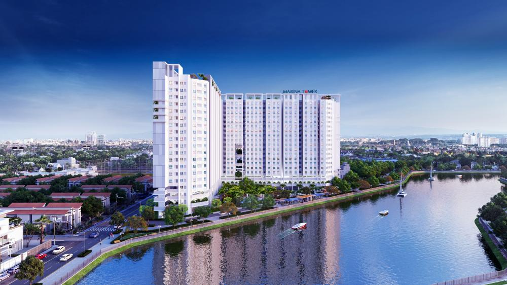 LDG Group chính thức công bố dự án khu căn hộ ven sông Marina Tower