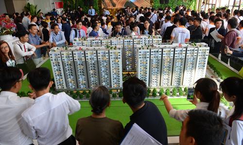 Tp.HCM: Giá căn hộ bất ngờ leo thang theo cú hích hạ tầng 1