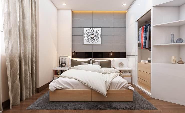 Soi chất lượng nội thất căn hộ Xuân Mai Complex 1