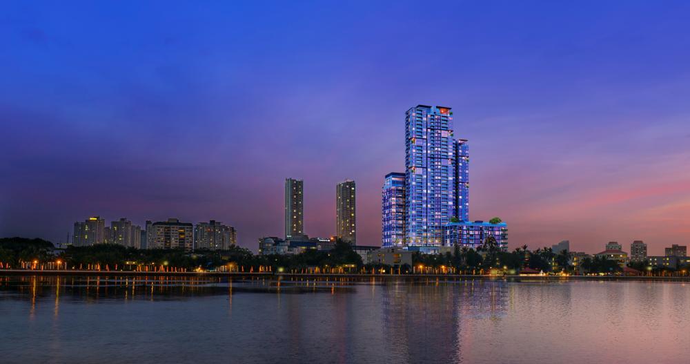 Chính thức cất nóc tòa phức hợp 36 tầng tại Tp.HCM