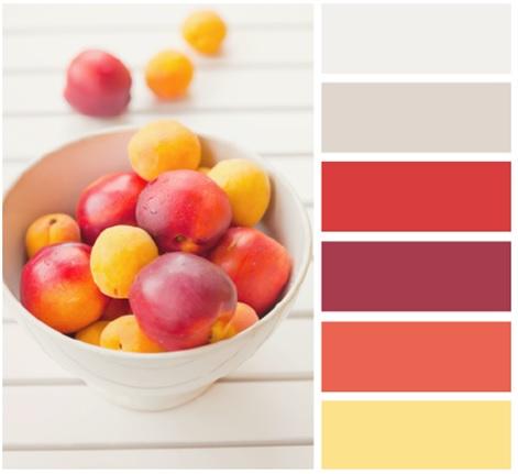 màu sắc tủ bếp phía Tây Nam