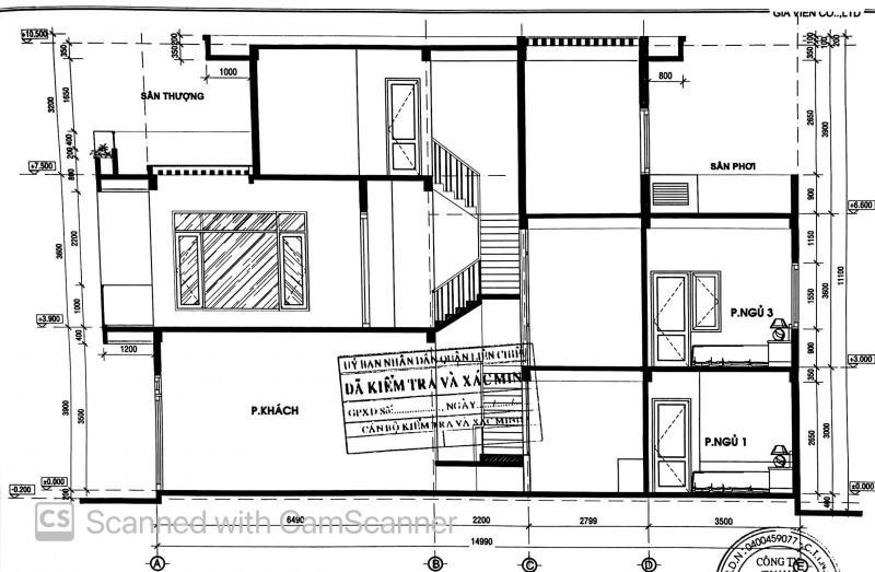Mặt bằng thiết kế căn nhà
